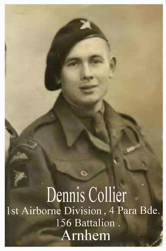Dennis Collier, parachutist tijdens de Slag om Arnhem.