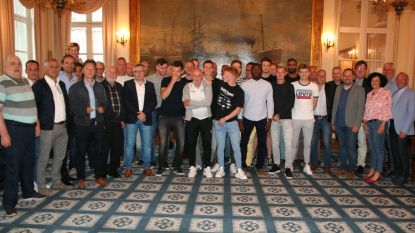 Kampioenenploeg KVK Tienen gehuldigd