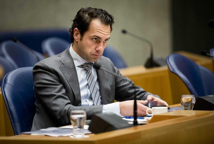Demissionair staatssecretaris Martijn van Dam van Economische Zaken.