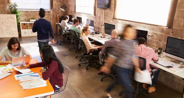 Jonge mensen kiezen er vaker voor viervijfde te gaan werken.  Beeld Thinkstock
