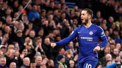 Hazard vijzelt statistieken verder op met doelpunt én assist, Chelsea makkelijk voorbij laagvlieger