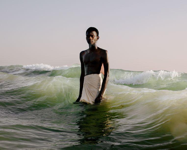 SJW, uit de serie Drown in My Magic (2019), van David Uzochukwu.   Beeld David Uzochukwu/Galerie Number 8