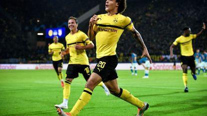 Scorende Witsel helpt efficiënt Dortmund aan straffe 4-0-zege tegen Atlético Madrid