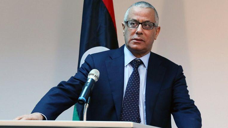 Libische premier Ali Zeidan. Beeld AFP