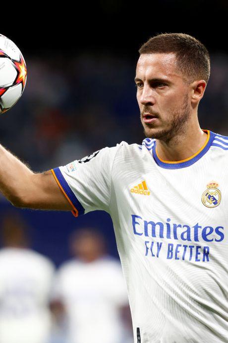 Eden Hazard absent de la sélection du Real Madrid en Ligue des Champions