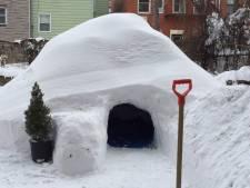 New Yorker bouwt iglo en zet die op Airbnb
