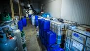 Drugslab ontdekt in Leopoldsburg