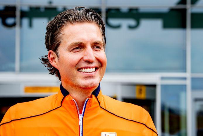 Pieter van den Hoogenband voor vertrek naar Tokio.