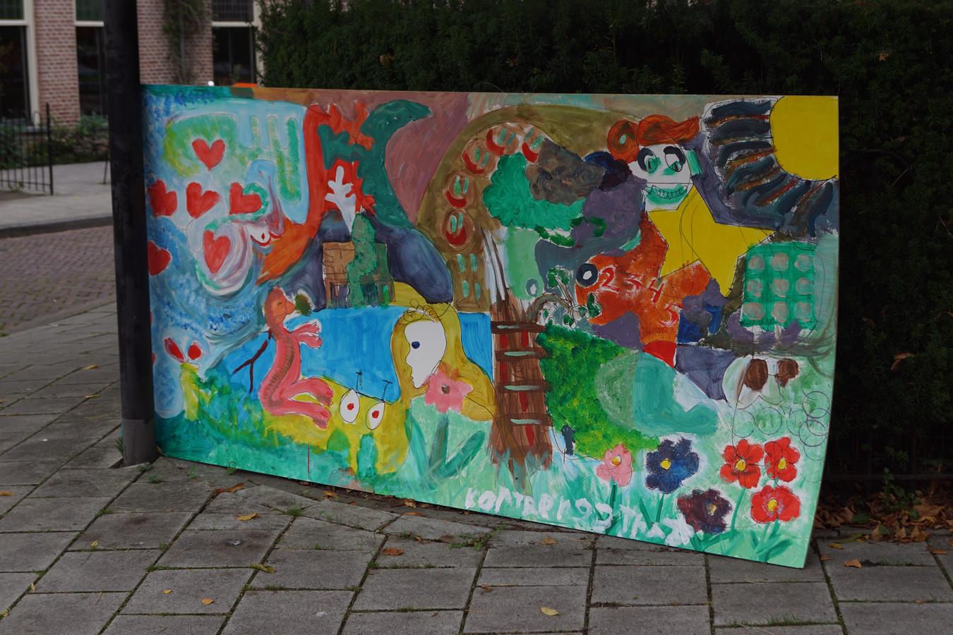 Schilderij Met Eigen Foto.Bewoners Korte Bergstraat Fleuren Wijk Op Met Eigen Schilderij