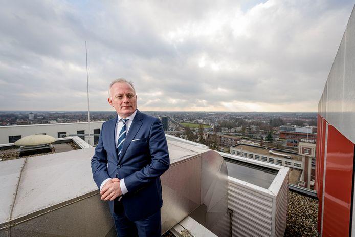 Burgemeester Arjen Gerritsen is behalve de eerste burger van Almelo ook mede-voorzitter van de Veiligheidsregio Twente.