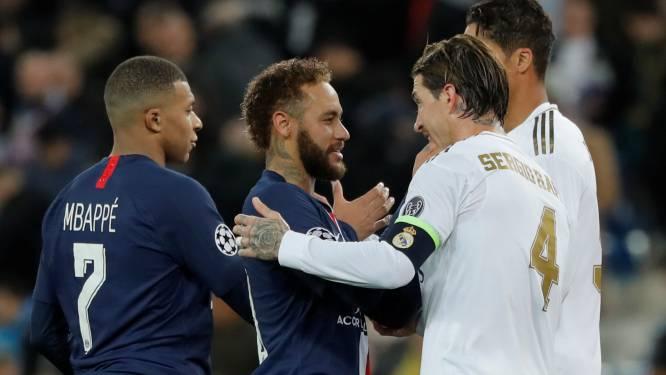 Neymar aurait appelé Sergio Ramos pour le convaincre de signer au PSG