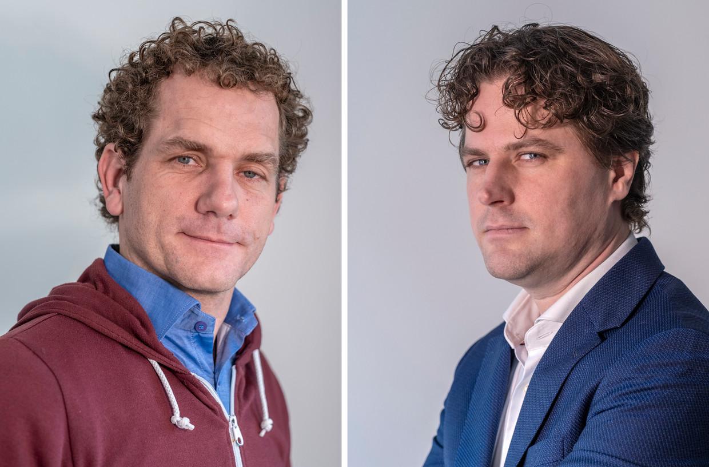 Joris Thijssen, PvdA (l) en Henri Bontenbal, CDA.