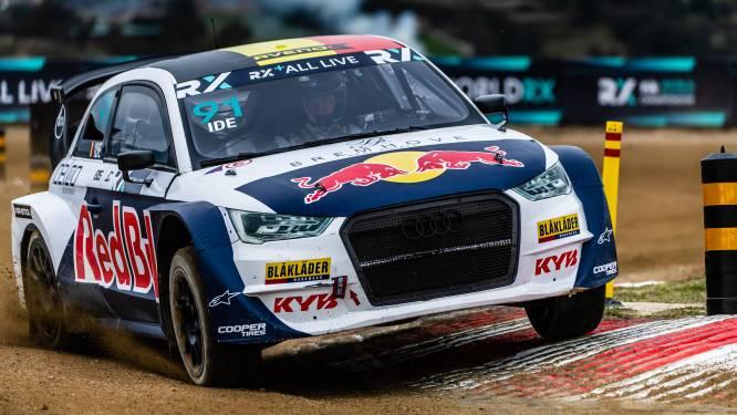Enzo Ide voor de tweede opeenvolgende maal in finale van een manche WK Rallycross