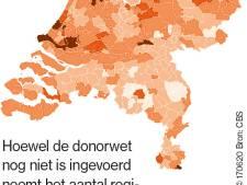 Nieuwe donorwet gaat bijna in: Brabant telt meeste geregistreerde donoren