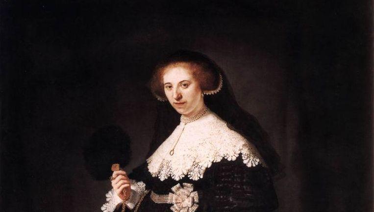 Oopjen Coppit. De portretten van de 21-jarige Maerten Soolmans en zijn 23-jarige bruid werden oorspronkelijk voor 500 gulden gekocht. Beeld Wikimedia