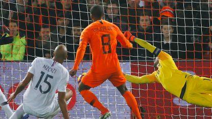 LIVE. Wijnaldum knalt Oranje vlak voor rust op voorsprong tegen wereldkampioen