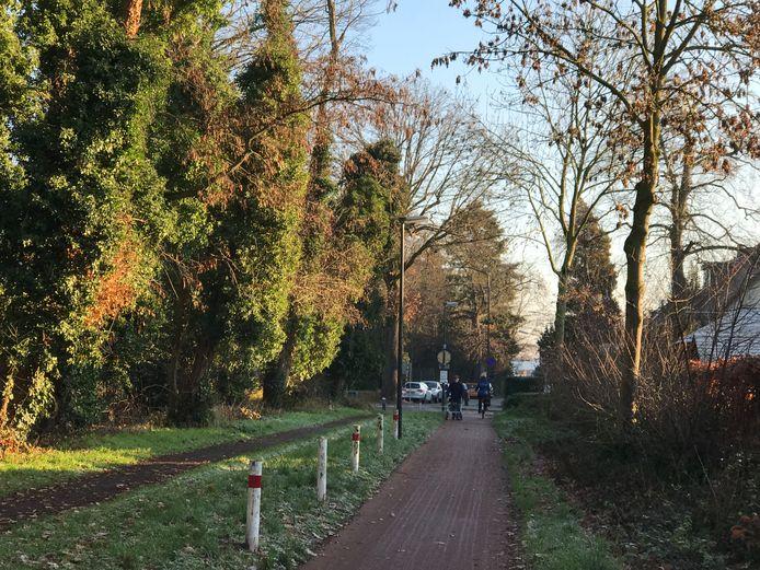 Vught wil de Jagersboschlaan verharden en openstellen voor verkeer.