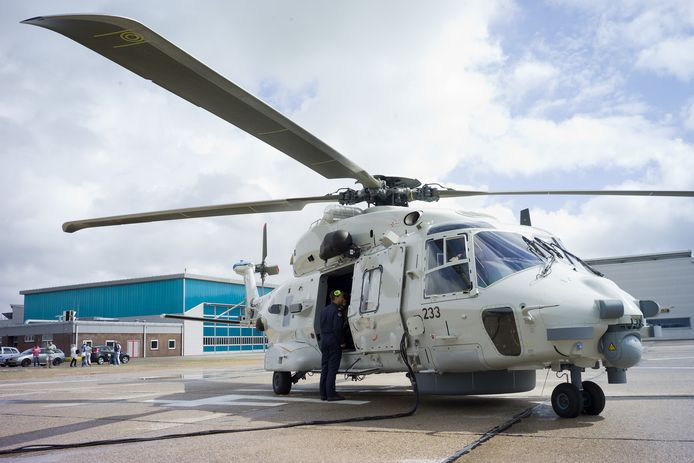 De NH90-helikopter.
