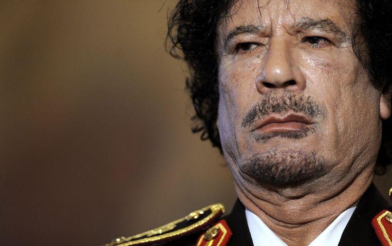 Muammar Kadhafi. Beeld AFP