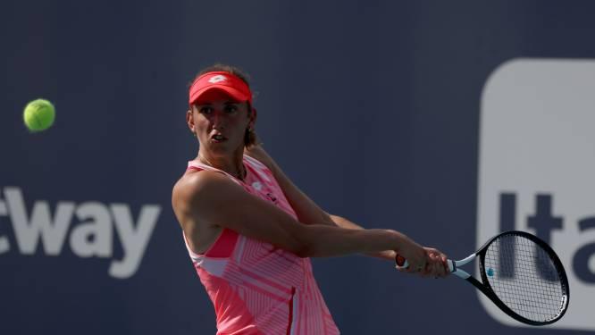 """Elise Mertens stoot door naar kwartfinales in Istanbul: """"Hard gevochten"""""""