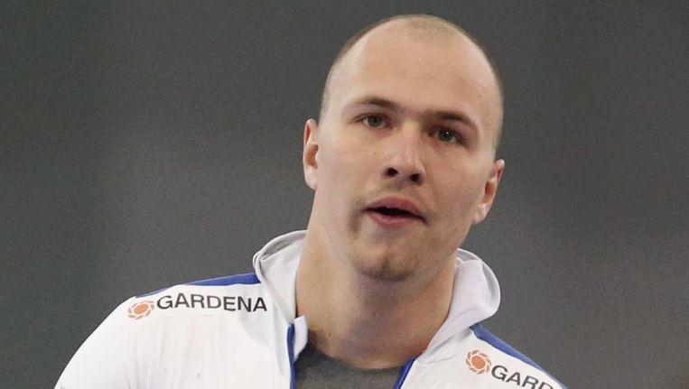 De Russische schaatser Pavel Koelizjnikov. Beeld epa
