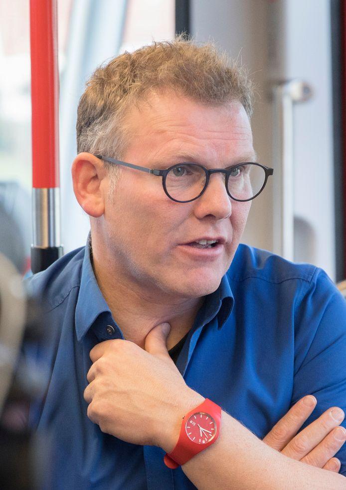 HSP-wethouder/lijsttrekker Joris Wijsmuller.