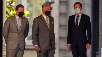 Koning verlengt opdracht De Wever en Magnette tot 17 augustus