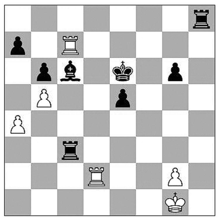 Caruana-Mamedyarov (Boekarest, 2021). Beeld Max Pam