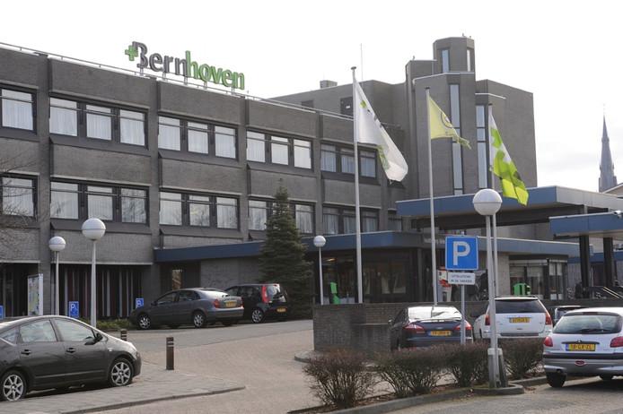 Het voormalige ziekenhuis aan de Burgemeester de Kuijperlaan.