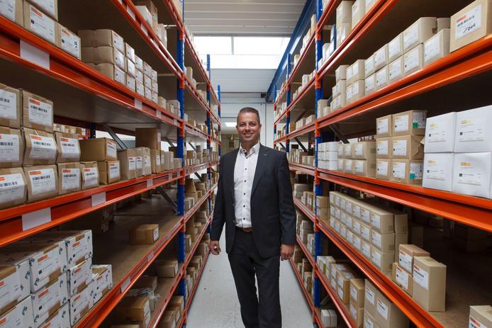 Jeroen van de Ven, eigenaar van Ven Fasteners uit Hapert.