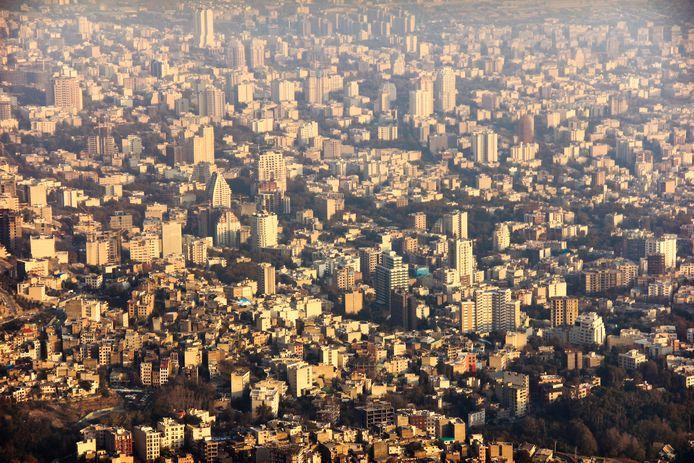 Skyline van Teheran