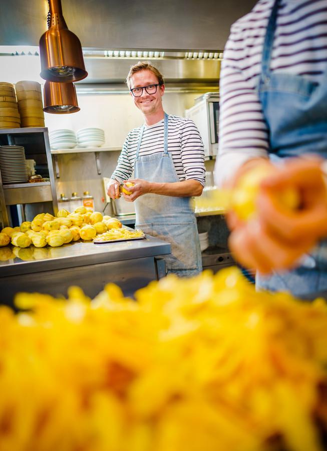 Mark van Wijngen van restaurant Huson.