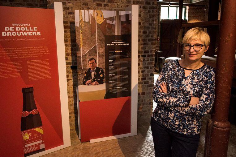 Sofie Adriaen is de conservator van het Hopmuseum.