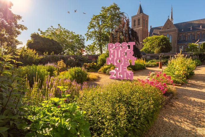 De Beeldentuin in Cuijk, onderdeel van het Cuijkse cultuurstraatje.