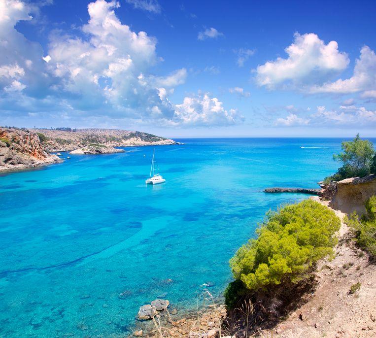 Punta de Xarraca, Ibiza. Beeld Getty Images