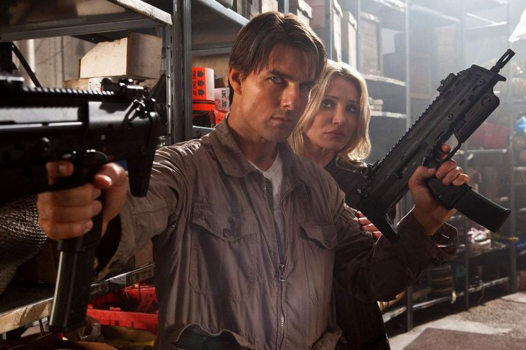 Tom Cruise en Cameron Diaz in Knight and Day. Beeld