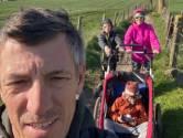 """De lockdown van Filip Meirhaeghe: """"Ik ben perfect content met mijn gezin"""""""
