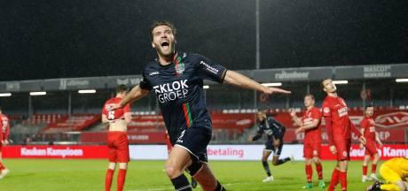 NEC verslaat met dodelijke efficiëntie Almere City en treft Roda JC in halve finale play-offs