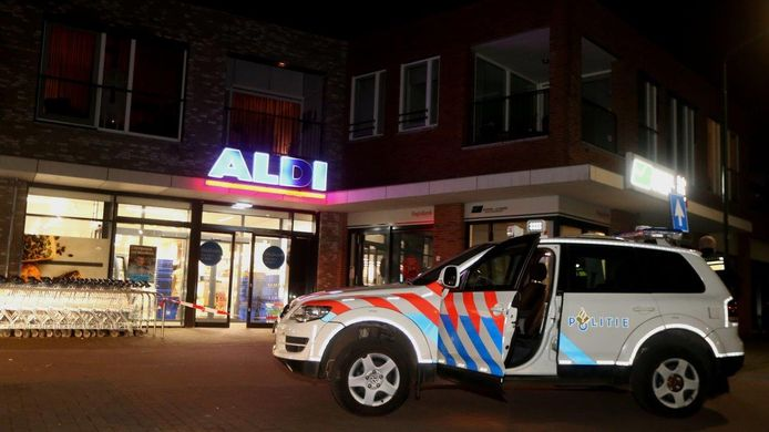 Overval op Aldi in Helvoirt.