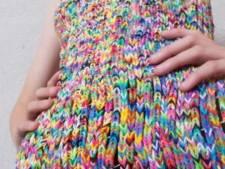 Rainbow Loom-jurkje te koop voor 194.000 euro