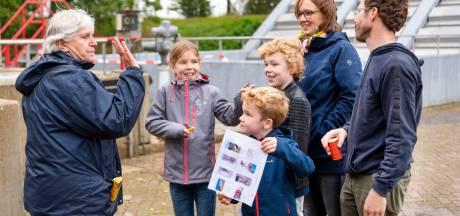 Publiek leert flink bij over waterzuivering Oijen op de Water-Ontdek-Dagen