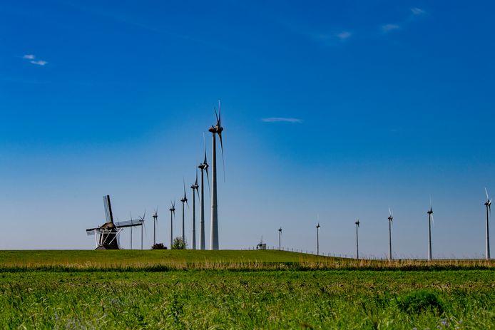Kloosterhaar gruwelt van windmolens. Die zouden als de Duitse politiek haar goedkeuring geeft net over de grens gebouwd kunnen worden.