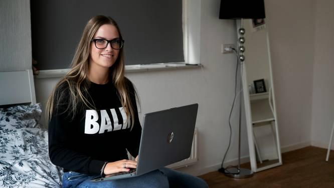 Mayke Bloem (20) uit Geldrop durft niets alleen; ze heeft autisme