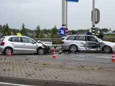 Grote schade na ongeluk N207