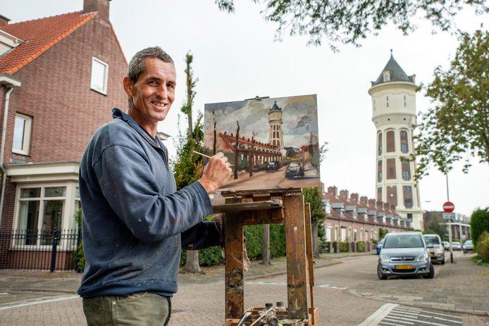 Jos Antens schildert mooiste plekjes Roosendaal