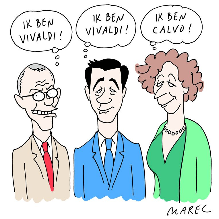 Marec ('Het Nieuwsblad', 'Dag Allemaal') was blij met de terugkeer van Vandenbroucke.  Beeld rv