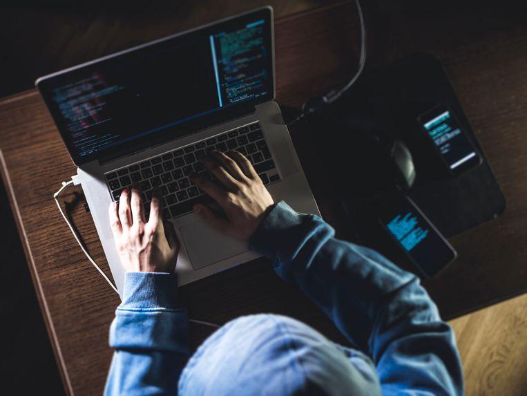 Het aantal geslaagde phishingtransacties lag vorig jaar op ongeveer 67.000, waarbij oplichters ongeveer 34 miljoen euro buitmaakten Beeld iStock