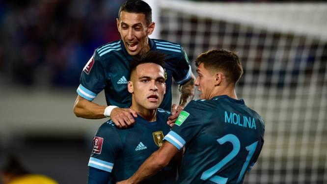 L'Argentine s'impose dans la douleur face au Pérou