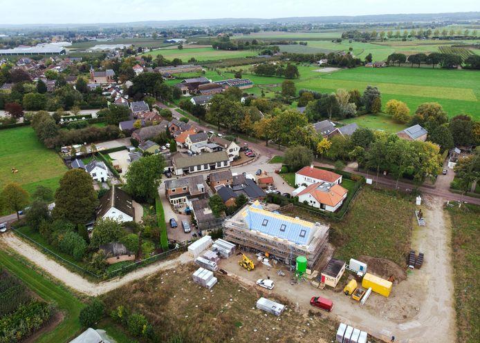 In Ommeren wordt gebouwd op de parkeerplaats van de vroegere disco De Roskam