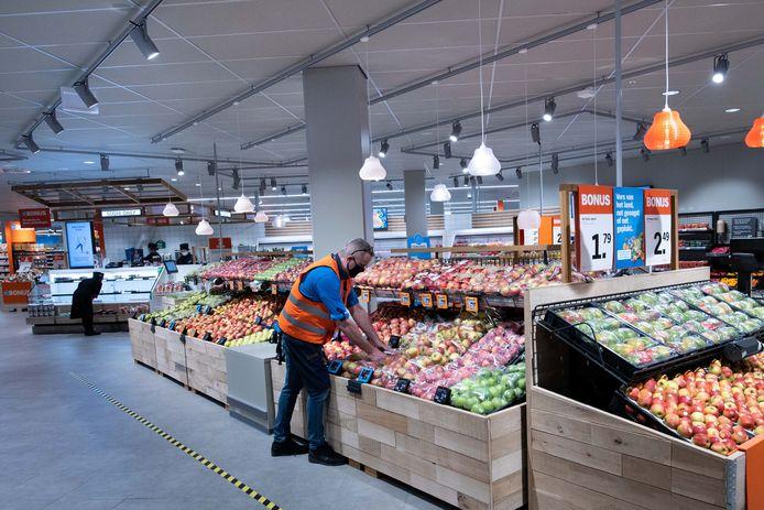De nieuwe versafdeling in de Albert Heijn XL in Dukenburg.